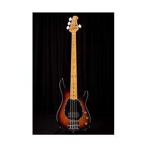 Classic Sterling 4 Flame Maple Neck Electric Bass Musical Instruments