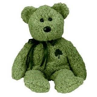 Ty Beanie Babies   Erin the Irish St Patricks Teddy Bear