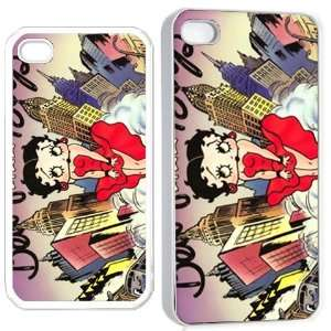 betty boop ve22 iPhone Hard Case 4s White Cell Phones