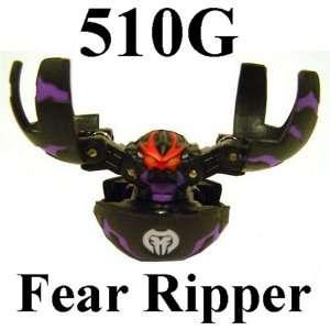 Bakugan Battle Brawlers Black Fear Ripper 510G LOOSE