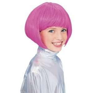 Barbie Pink Bob Wig Toys & Games