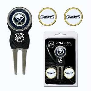 Buffalo Sabres Nhl Divot Tool Pack W/Signature Tool
