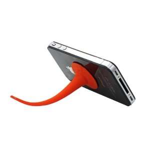 Silicone Stand Holder for iPhone/iPod(Red) Cell Phones & Accessories
