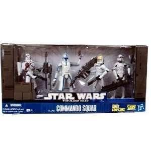 Star Wars Clone Wars Exclusive Set Commando Squad Toys & Games