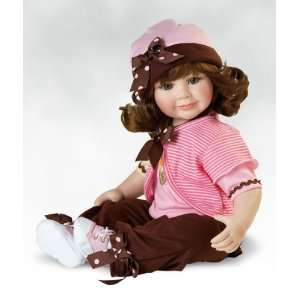 Scream You Scream, 12 Inch(Seated) Collectible Girl Doll in