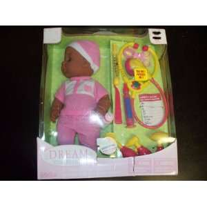 Dream Collection Baby Doll with Medical Set Toys & Games