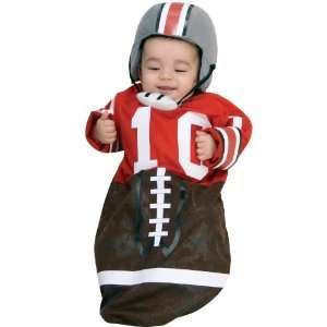 Party By Rubies Costumes Football (Red) Deluxe Bunting Infant Costume
