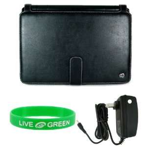 10 Inch Netbook Executive Leather Case and Home Charger Electronics