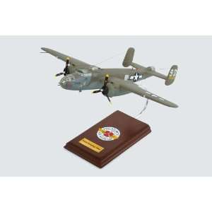 B 25J Mitchell Briefing Time Quality Desktop Model Plane