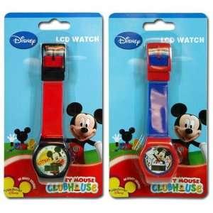 2pk Disney Mickey Clubhouse Digital LCD Watch For Kids