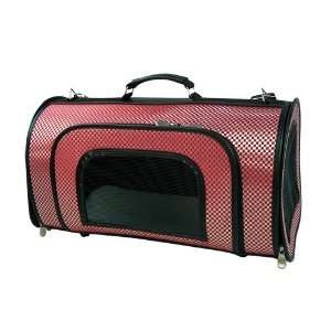 Pet Carrier, Dog Carrier, Zippered Weaved Posh Carrier in
