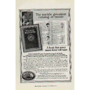 Dollars to place this Victor Record catalog in your hands. .. 1918