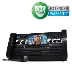 Portable Karaoke DVD/CD+G/MP3 Player Speaker System with 7 Screen