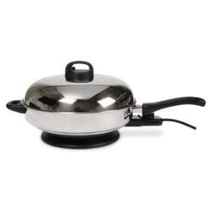 Meyer Stainless Steel Electric Skillet 12  Kitchen