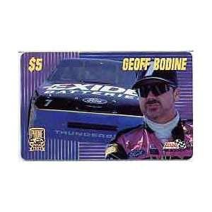 : PhonePak 1996 $5. Geoff Bodine (Exide Batteries): Everything Else