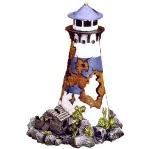 Exotic Environments Lighthouse Ruin Aquarium Ornament, 6 1