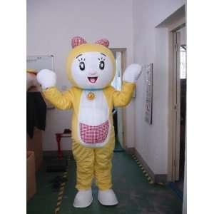 Female Doraemon Robot Cat Mascot Costume EPE Toys & Games