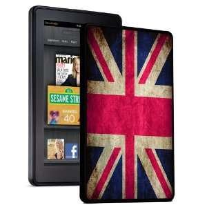 UK United Kingdom Flag   Kindle Fire Hard Shell Snap On