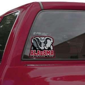 Alabama Crimson Tide 7.5 x 7 Team Logo Window Cling