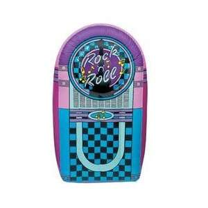 Jukebox 5 Foot Tall Vinyl Inflatable Rock N Roll: Toys & Games