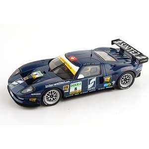 Ninco   Ford GT GT3 Metech Adac #5 dr. blue Slot Car