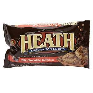 Heath Milk Chocolate Toffee Baking Bits, 8 oz  Grocery