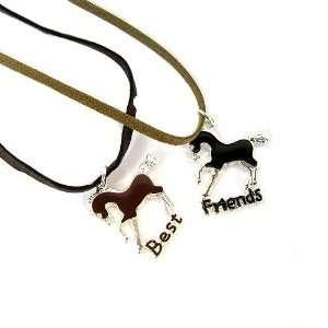 Best Friends Horses Friendship Necklaces Jewelry