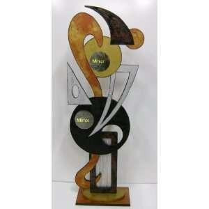 Funky Modern Abstract Handmade Floor / Table Sculpture Art, Design by