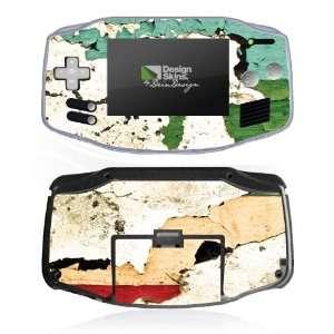 Design Skins for Nintendo Game Boy Advance   Splattered Paint Design