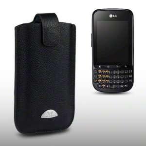 LG OPTIMUS PRO C660 TERRAPIN GENUINE LEATHER POCKET CASE