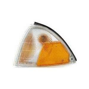 89 94 GEO METRO CORNER LIGHT LH (DRIVER SIDE), Clear/Amber