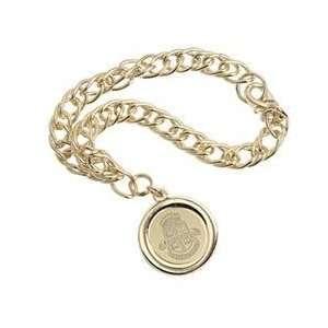 Brown   Charm Bracelet   Gold