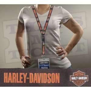 Harley Davidson Lanyard Key Chain with Ticket Holder