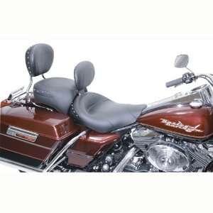 15 Black Studded Solo Seat Harley Davidson FLHR, FLHX (Except FLHRS