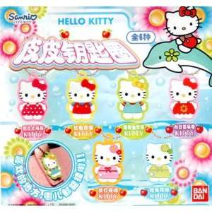 Hello Kitty 1.75 PVC Straps, Charms or Keychains