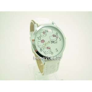 Miss Peggys   Hello Kitty Kw261e white Watch Face Is a About the Size