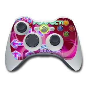 Pink Design Skin Decal Sticker for the Xbox 360 Controller