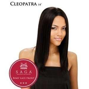 SAGA Remy Human Hair Lace Front Wig   CLEOPATRA 14   1