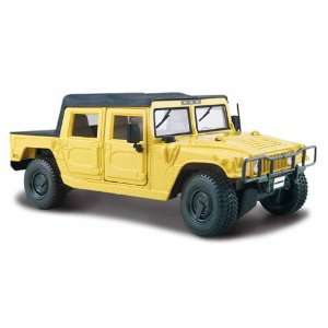 Hummer SUT Yellow 127 Diecast Model Car Maisto Toys