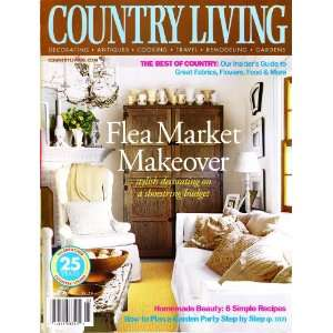Country Living Magazine March 2003   Flea Market Makeover