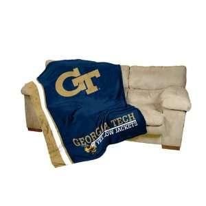 Georgia Tech Yellow Jackets Ultra Soft Blanket 84in x 54in