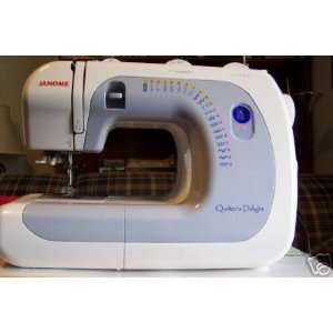 Janome Sewing Machine Quilters Delight 4119 Arts, Crafts