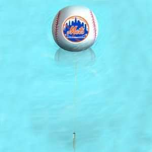 New York Mets 7 Baseball Floating Thermometer NFL Football Fan Shop
