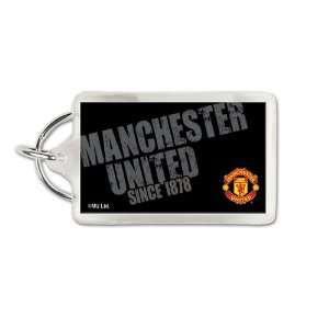 Manchester United Official 3 Soccer Key Ring Keychain
