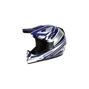Neal 2007 Series 3 Blue Motocross Riding Helmet (SizeXS)
