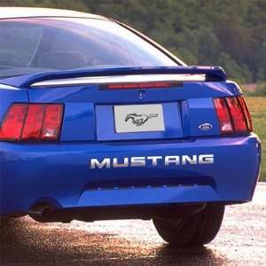 Ford Mustang Rear Bumper Chrome Letters Insert Automotive