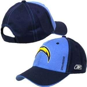 NFL SAN DIEGO CHARGERS NAVY BLUE REEBOK HAT CAP ADJ NEW