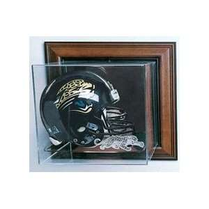 Football Helmet Display Case with Engraved NFL Team Logo (Black