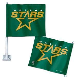 Dallas Stars Official 12x14x21 NHL Car Flag: Sports & Outdoors
