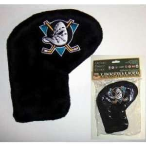 NHL Anaheim Mighty Ducks Deluxe Golf Putter Cover Case Pack 12